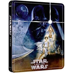 Exclusivité Zavvi : Steelbook Star Wars : Episode IV – Un nouvel espoir – 4K Ultra HD (Édition 3 Disques Blu-ray inclus)