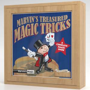 Marvin's Magic Treasured Magic Tricks (Wooden Set)