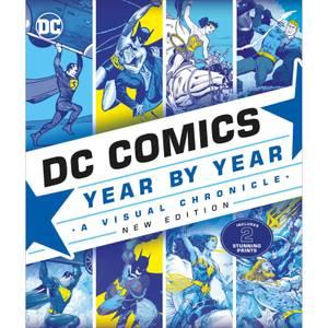 DK Books DC Comics Year By Year New Edition Hardback