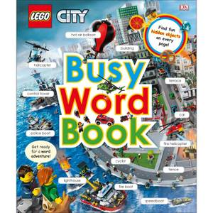 DK Books LEGO CITY Busy Word Book Hardback