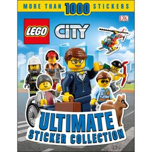 DK Books LEGO City Ultimate Sticker Collection Paperback