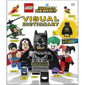 DK Books LEGO DC Super Heroes Dictionnaire visuel Livre relié
