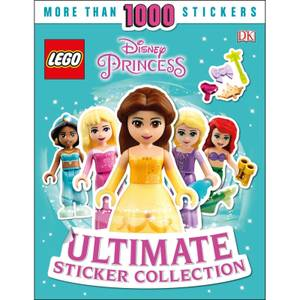 DK Books LEGO Disney Princess Ultimate Sticker Collection Paperback