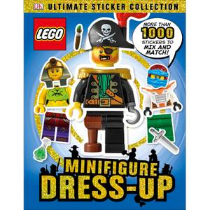 DK Books LEGO Minifigure Dress-Up Ultimate Sticker Collection Paperback