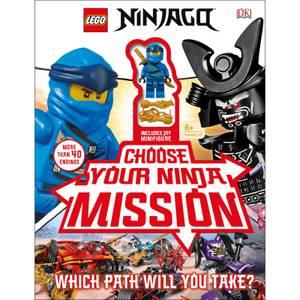 DK Books LEGO NINJAGO Choose Your Ninja Mission Hardback