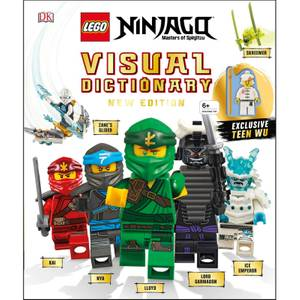 DK Books LEGO NINJAGO Visual Dictionary New Edition Hardback