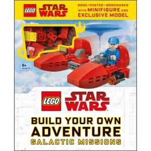 DK Books LEGO Star Wars Build Your Own Adventure Galactic Missions Hardback