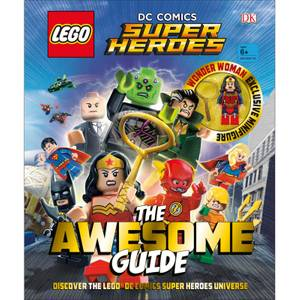 DK Books LEGO DC Comics Super Heroes The Awesome Guide Hardback