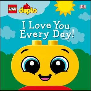 DK Books LEGO DUPLO I Je t'aime tous les jours  ! Livre de bord