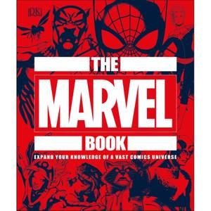 DK Books The Marvel Book Hardback