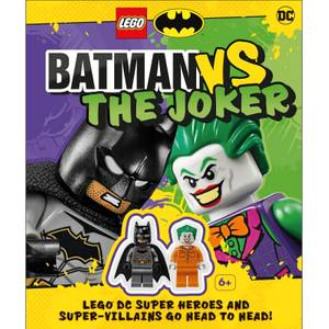 DK Books LEGO Batman Batman Vs. The Joker Hardback