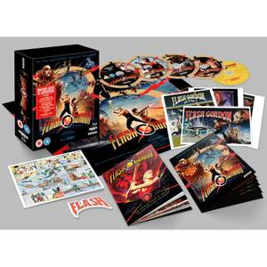 Flash Gordon (40th Anniversary Edition) – 4K Ultra HD & Blu-ray Collector's Edition (5 discs)