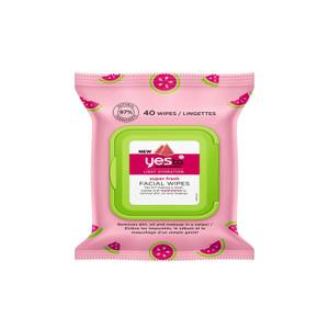 yes to Watermelon Super Fresh Facial Wipes 40ct