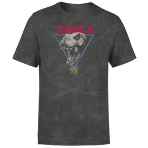 T-shirt Jurassic Park TREX - Noir délavé - Unisexe