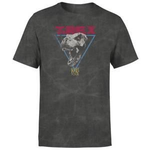 Jurassic Park TREX Unisex T-Shirt - Black Acid Wash