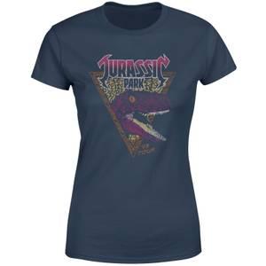 Jurassic Park Raptor Women's T-Shirt - Navy