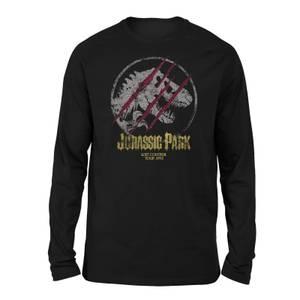 Jurassic Park Lost Control Unisex Long Sleeved T-Shirt - Black