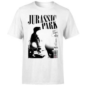 Jurassic Park Isla Nublar Punk Men's T-Shirt - White