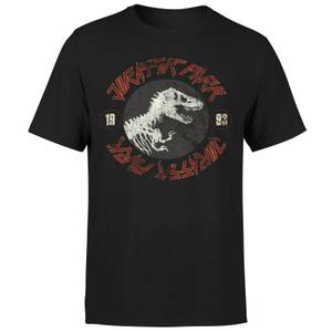 Jurassic Park Classic Twist Men's T-Shirt - Black