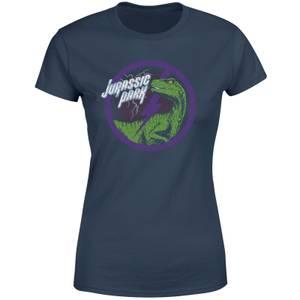 Jurassic Park Raptor Bolt Women's T-Shirt - Navy