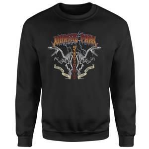 Jurassic Park Raptor Twinz Sweatshirt - Black