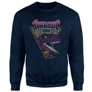Sweat-shirt Jurassic Park Raptor - Bleu Marine