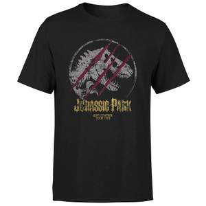 Jurassic Park Lost Control Men's T-Shirt - Black
