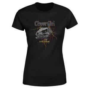 Jurassic Park Clever Girl Raptors On Tour Women's T-Shirt - Black
