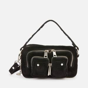 Núnoo Women's Helena New Suede Cross Body Bag - Black