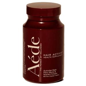 Aéde Hair Activist Health Supplement - 1 Month (60 Tablets)