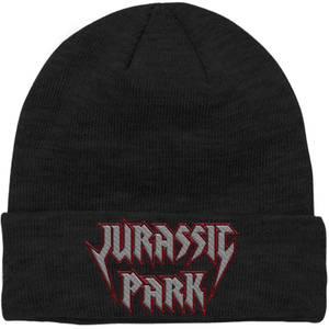 Bonnet Jurassic Park Rock Theme Logo Brodé