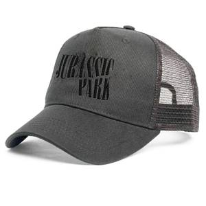 Jurassic Park Punk Theme Embroidered Logo Cap