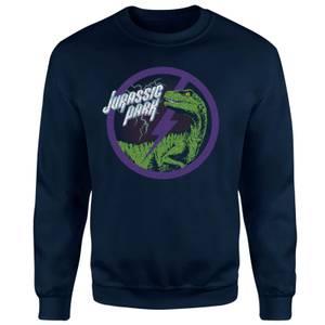 Jurassic Park Raptor Bolt Sweatshirt - Navy