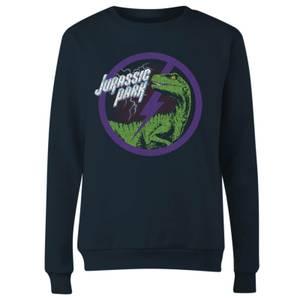 Jurassic Park Raptor Bolt Women's Sweatshirt - Navy