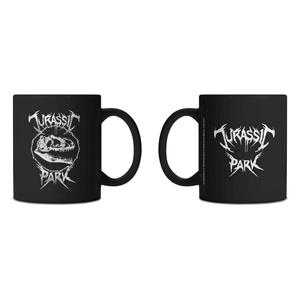 Tasse Jurassic Park Deathmetal - Noir