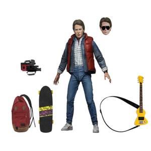 Figurine NECA Retour vers le futur, échelle 18 cm - Ultime Marty McFly