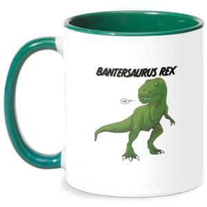 Bantersaurus Rex Mug - White/Green