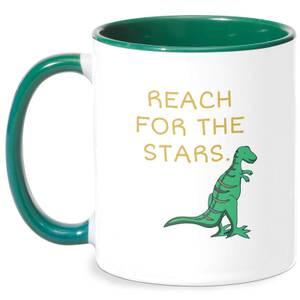 Reach For The Stars Mug - White/Green