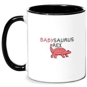 Babysaurus Mug - White/Black