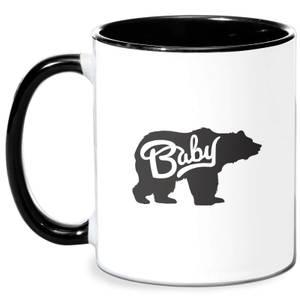 Baby Bear Mug - White/Black