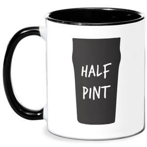 Half Pint Mug - White/Black