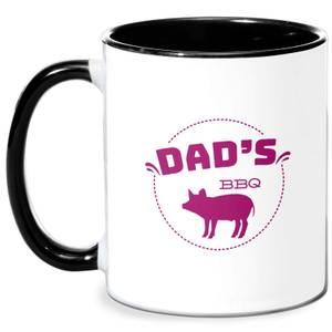 Dads BBQ Mug - White/Black