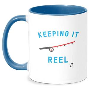 Keeping It Reel Mug - White/Blue