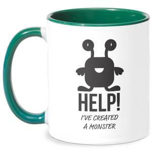 HELP Ive Created A Monster Mug - White/Green