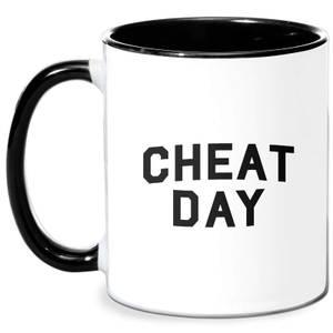 Cheat Day Mug - White/Black