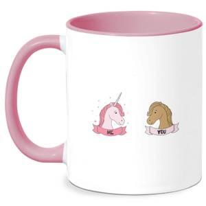 Im A Unicorn Mug - White/Pink