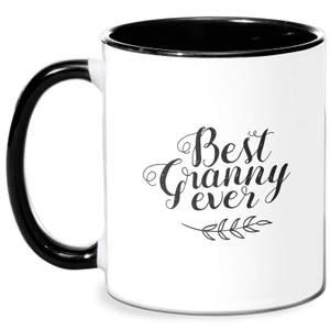 Best Granny Ever Mug - White/Black