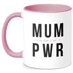 MUM PWR Mug - White/Pink