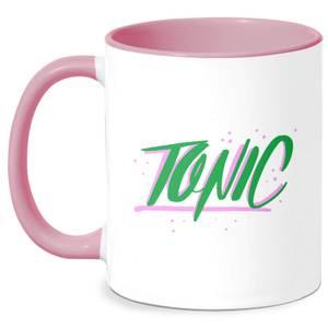 Tonic Mug - White/Pink