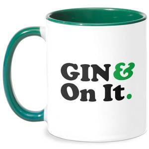 Gin & On It Mug - White/Green